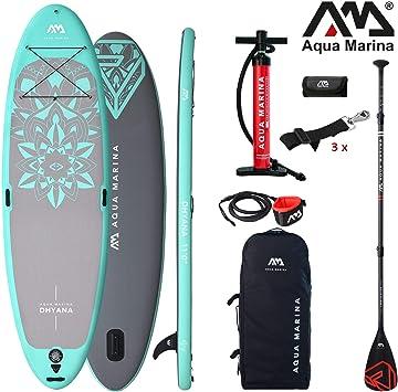 Aqua Marina Dhyana 2019 Yoga Sup Board Hinchable Stand Up Paddle ...