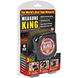 ONTEL MK-MC12/4 Measure King 3-in-1 Digital Tape Measure String Mode, Sonic Mode & Roller Mode As seen On Tv