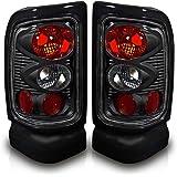 Winjet WJ20-0013-05 Chrysler/Dodge/Plymouth LED Tail Light (Black Housing/Smoke Lens)