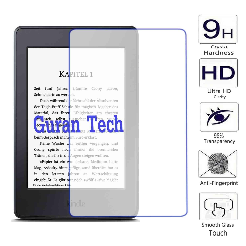 Guran® Protector de Pantalla Vidrio Cristal Templado Para Kindle ...