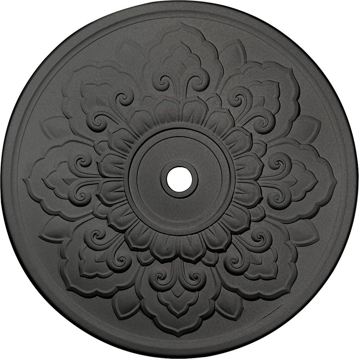 Ekena Millwork CM50LOSGS Lorry Ceiling Medallion, Steel Gray