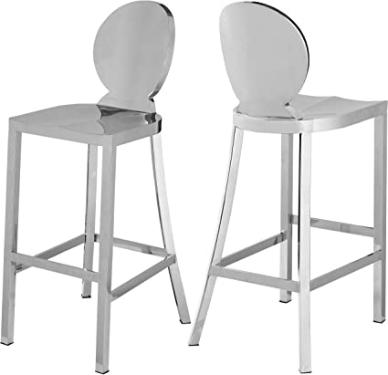 Magnificent Amazon Com Meridian Furniture 704 Maddox Collection Modern Machost Co Dining Chair Design Ideas Machostcouk