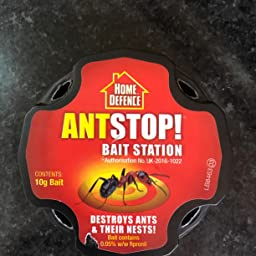 Ant Stop Bait Station Home Defence Ant Stopper 4 Bait Stations Amazon Co Uk Garden Outdoors