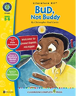 bud not buddy teacher guide complete lesson unit for teaching  bud not buddy literature kit