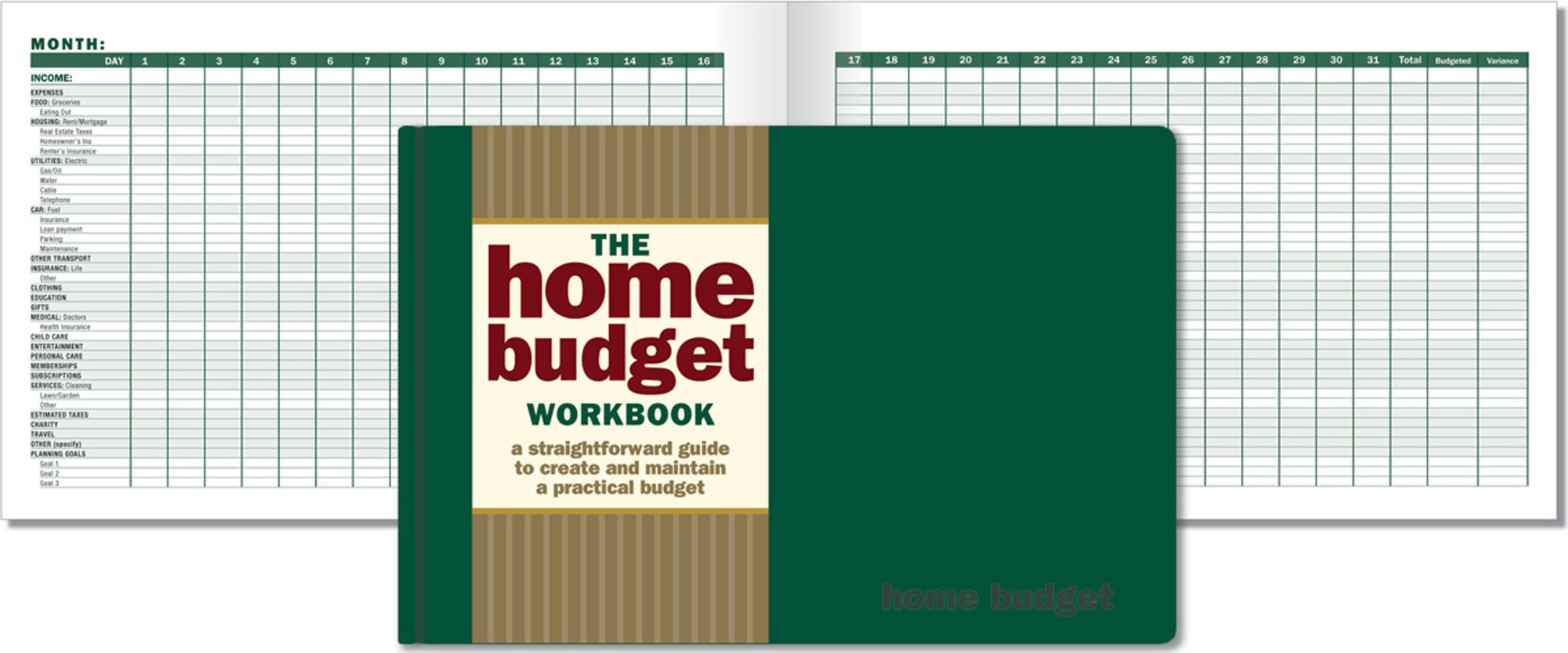 The Home Budget Workbook (Guidebook, Organizer): Eleanor Blayney ...