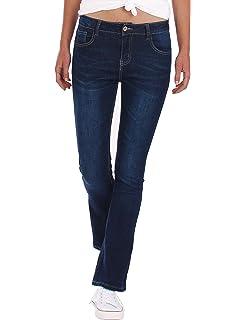 ad5a0b17 Fraternel Pantalones Vaqueros mujer corte bota boot-cut: Amazon.es ...