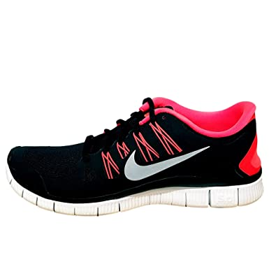 3484280bd8785 Image Unavailable. Image not available for. Color  Nike Mens Free 5.0+ 10.5  M US Black Reflect Silver Total Crimson