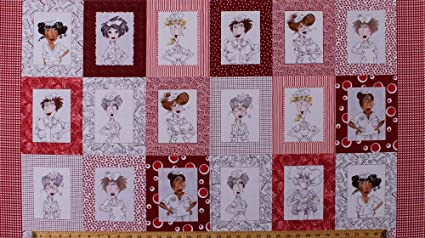 TOSSD  NURSES 100/% COTTON NEW ADORABLE 1 YARD BY LORALIE DESIGNS  ON GRAY