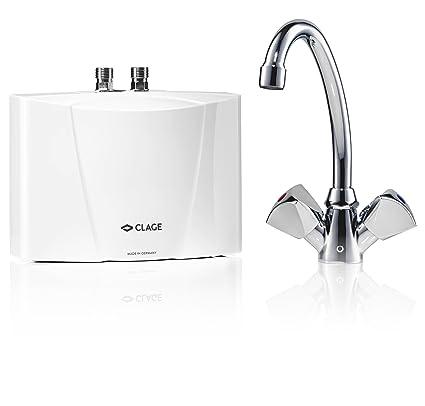 Calentador de agua electrico para lavaplatos