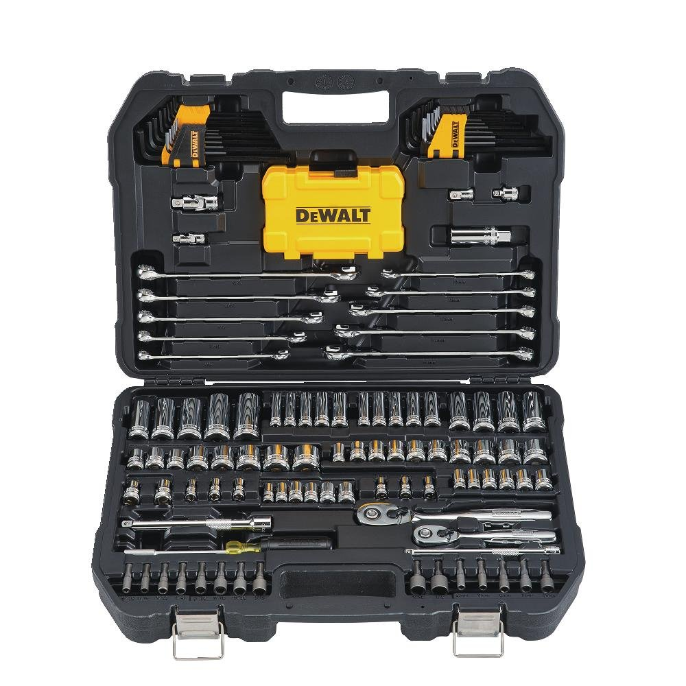 DeWalt DWMT73802 Mechanics Tool Kit Set with Case (142 Piece) by DEWALT