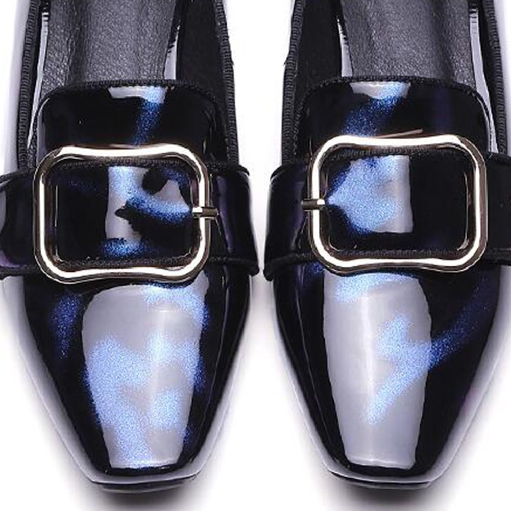 Damen Schuhe CJC Schuhe Fashion Classic Frauen Low Heel Spitz Büroarbeit Leichte Frauen Büroarbeit Spitz (Farbe   T1 Größe   EU35 UK3) cc1982