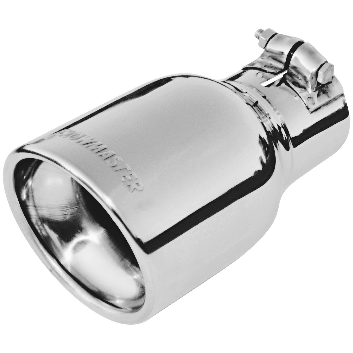 """Flowmaster 15362 Polished Weld-On Exhaust Tip 3/"""" Cut Angle Fits 2.5/"""" Pipe"""