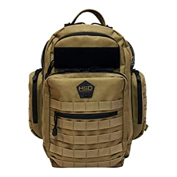 b628cbe991a Amazon.com   HSD Diaper Bag Backpack + Changing Pad