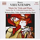 Vieuxtemps: Music for Viola and Piano - Sonata Op.36 / Unfinished Sonata Op. Post