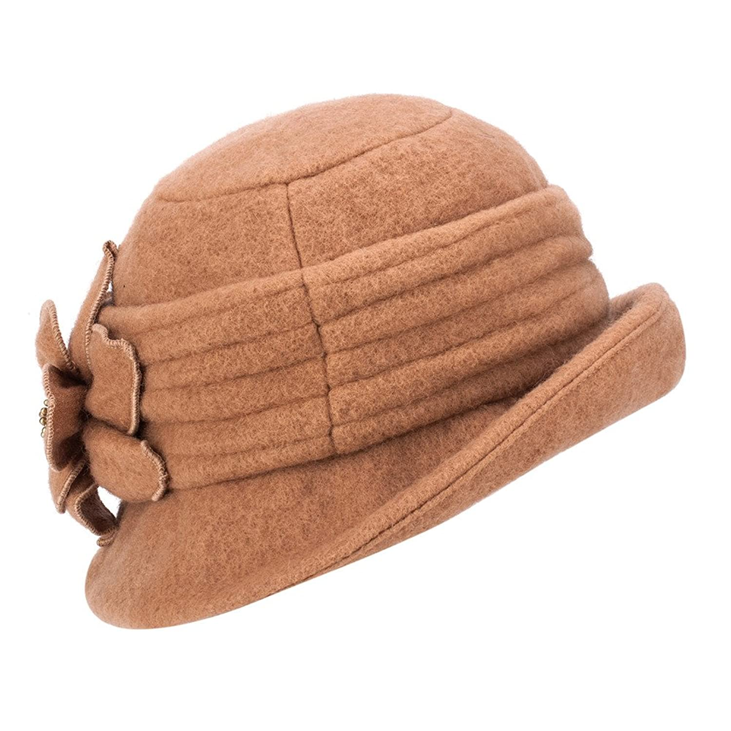 1920s Accessories | Great Gatsby Accessories Guide Womens GATSBY 1920s Winter Wool Cap Beret Beanie Cloche Bucket Hat A299 $17.99 AT vintagedancer.com