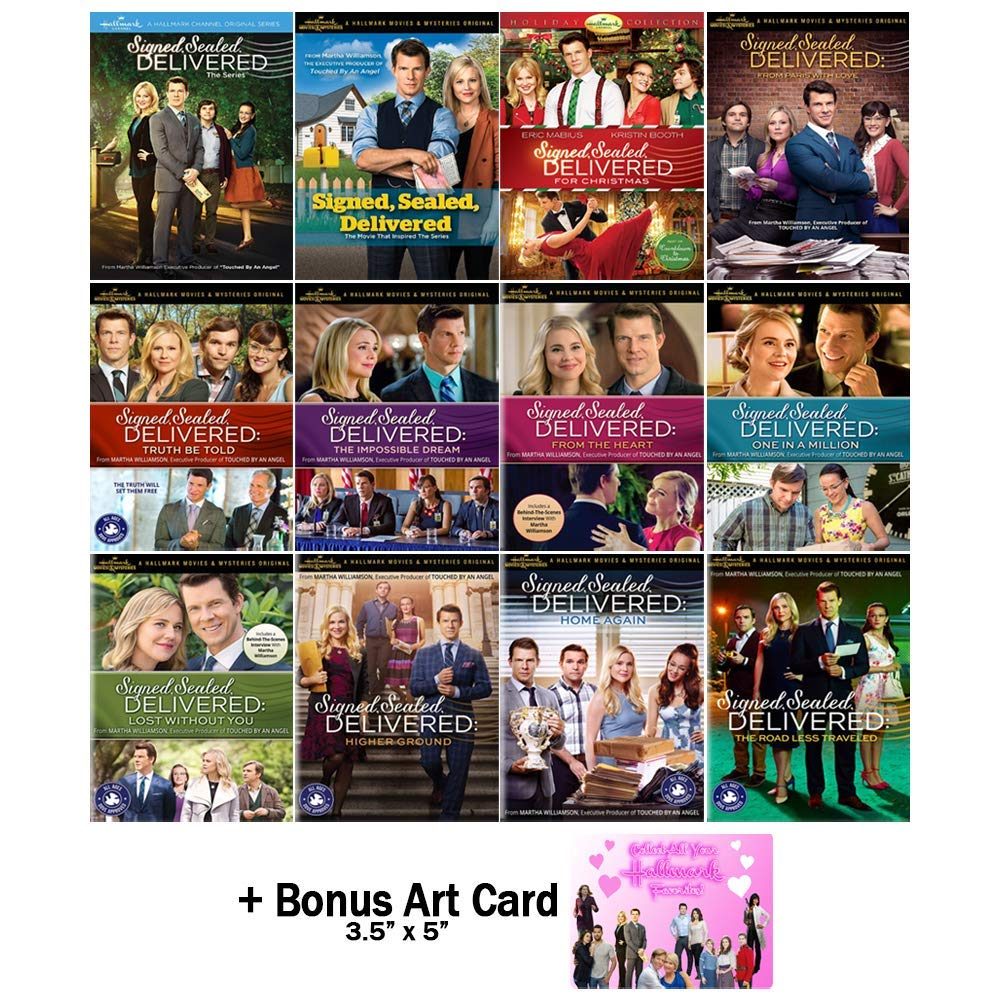 Signed, Sealed, Delivered: Complete DVD Collection - Hallmark TV Series + Movies 1-11