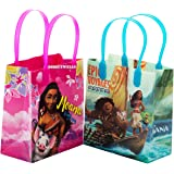 Moana and Maui Epic Voyages12 Authentic Licensed Party Favor Reusable Small Goodie Gift Bags 6""