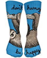 Kash NY Funny Sloth Climbing Printed Unisex Comfortable Crew Socks Athletic Casual Sock