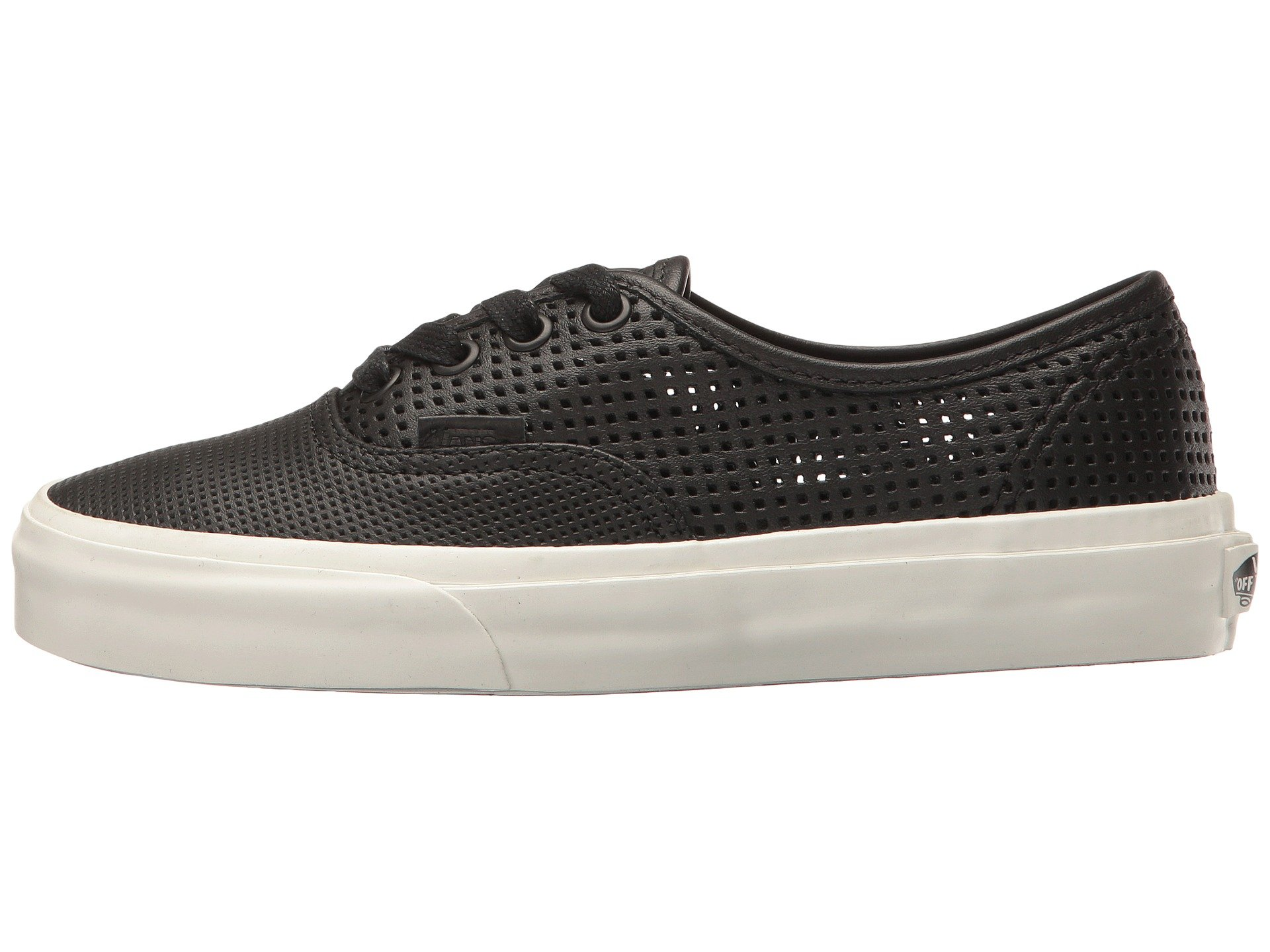 Galleon - Vans Unisex Authentic DX (Square Perf) Black VN0A38ESIUZ Mens 8 12a87e2f2