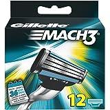 Gillette Mach3–lames 12pièces