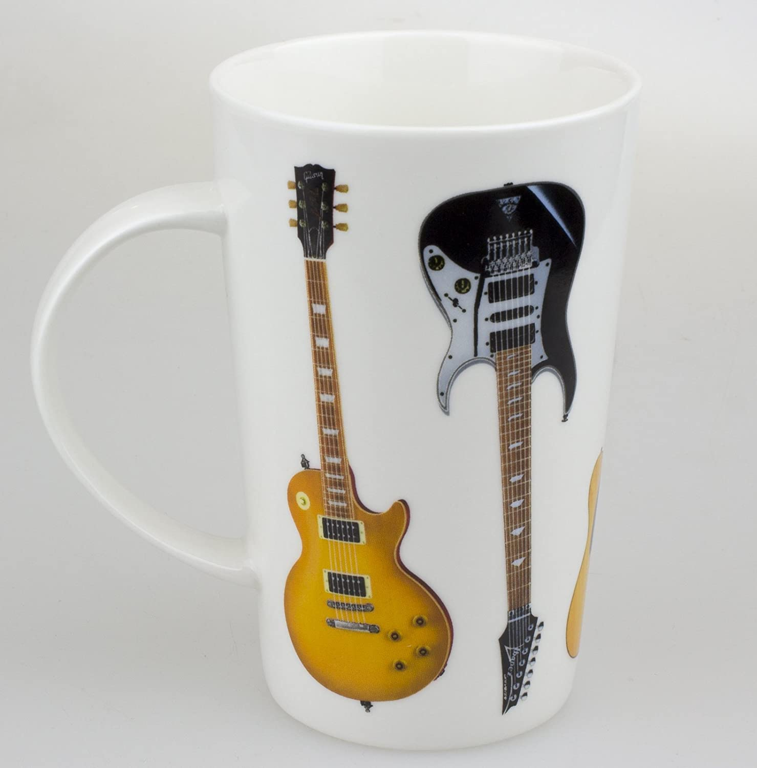 electric guitar mug tboxed china tall latte mug an ideal t