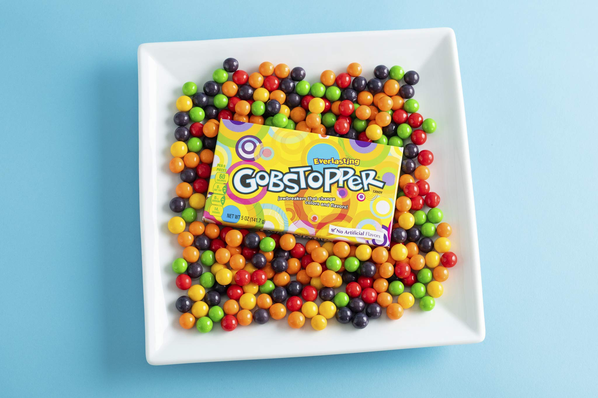 Everlasting Gobstopper Candy, Video Box, 5 Ounce (Pack of 12) by Gobstopper