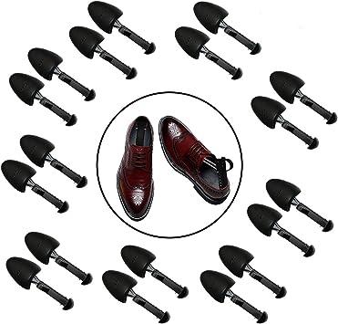 5 Pairs of Shoe Trees I Adjustable Length Shoe Trees for Men I Shoe /& Boot Trees I Men Shoe Tree Stretcher Boot Holder Organizers I Shoe Form Plastic