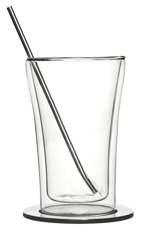 2 St/ück Sagaform hei/ße Getr/änke Glas