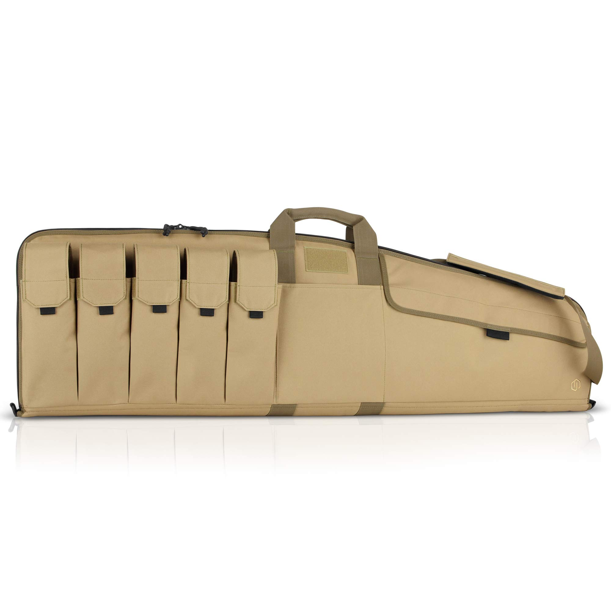 Savior Equipment The Patriot 46'' Single Rifle Gun Tactical Bag - Flat Dark Earth Tan by Savior Equipment