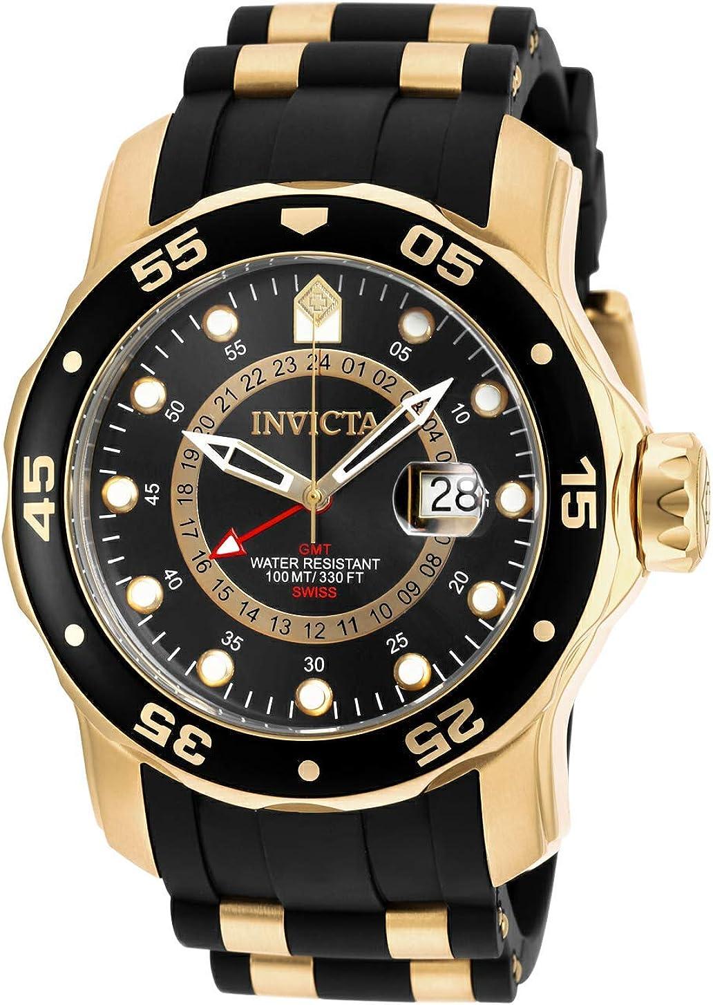 Invicta 6991 Pro Diver - Scuba Reloj para Hombre acero inoxidable Cuarzo Esfera negro