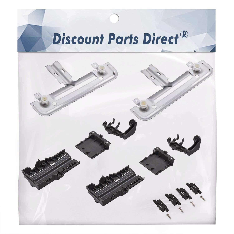 W10712394 Dishwasher Upper Rack Adjuster Kit - For Whirlpool Kitchenaid - Replaces AP5956100, PS10064063, W10238418, W10253546, W10712394VP
