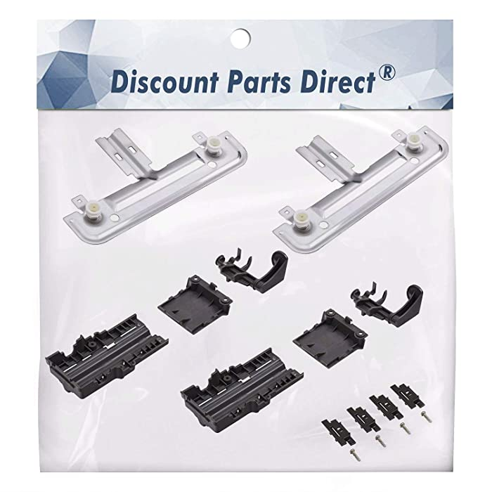 W10712394 Dishwasher Upper Rack Adjuster Kit - For Whirlpool Kitchenaid - Replaces AP5956100, PS10064063, W10238418, W10253546, W10712394VP