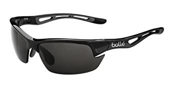 Bollé Bolt S Gafas, Unisex adulto, Negro (Shiny Black), S