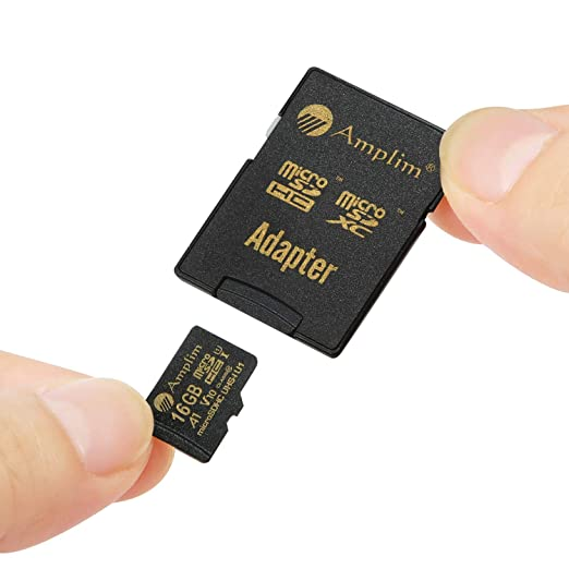 Amazon.com: Amplim - Tarjeta microSDXC con adaptador (2 ...
