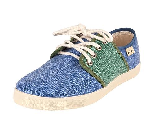 Pompeii Tucano, Zapatilla Baja para Hombre, Verde (Indigo/Grass_2), 41 EU: Amazon.es: Zapatos y complementos