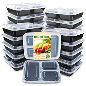 Enther Meal Prep Containers Bento Box