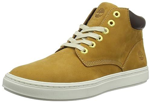 Timberland Londyn, Zapatillas Altas para Mujer, Marrón (Wheat Nubuck P01), 42 EU: Amazon.es: Zapatos y complementos