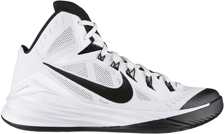 Nike Men Hyperdunk 2014 TB Basketball Shoe White//Black 10.5 D M US
