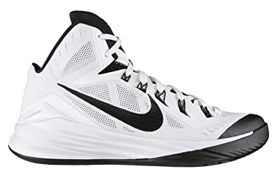 wholesale dealer ae7b3 ca2ae Nike Men s Hyperdunk 2014 Basketball Shoes White Black - 100 ...