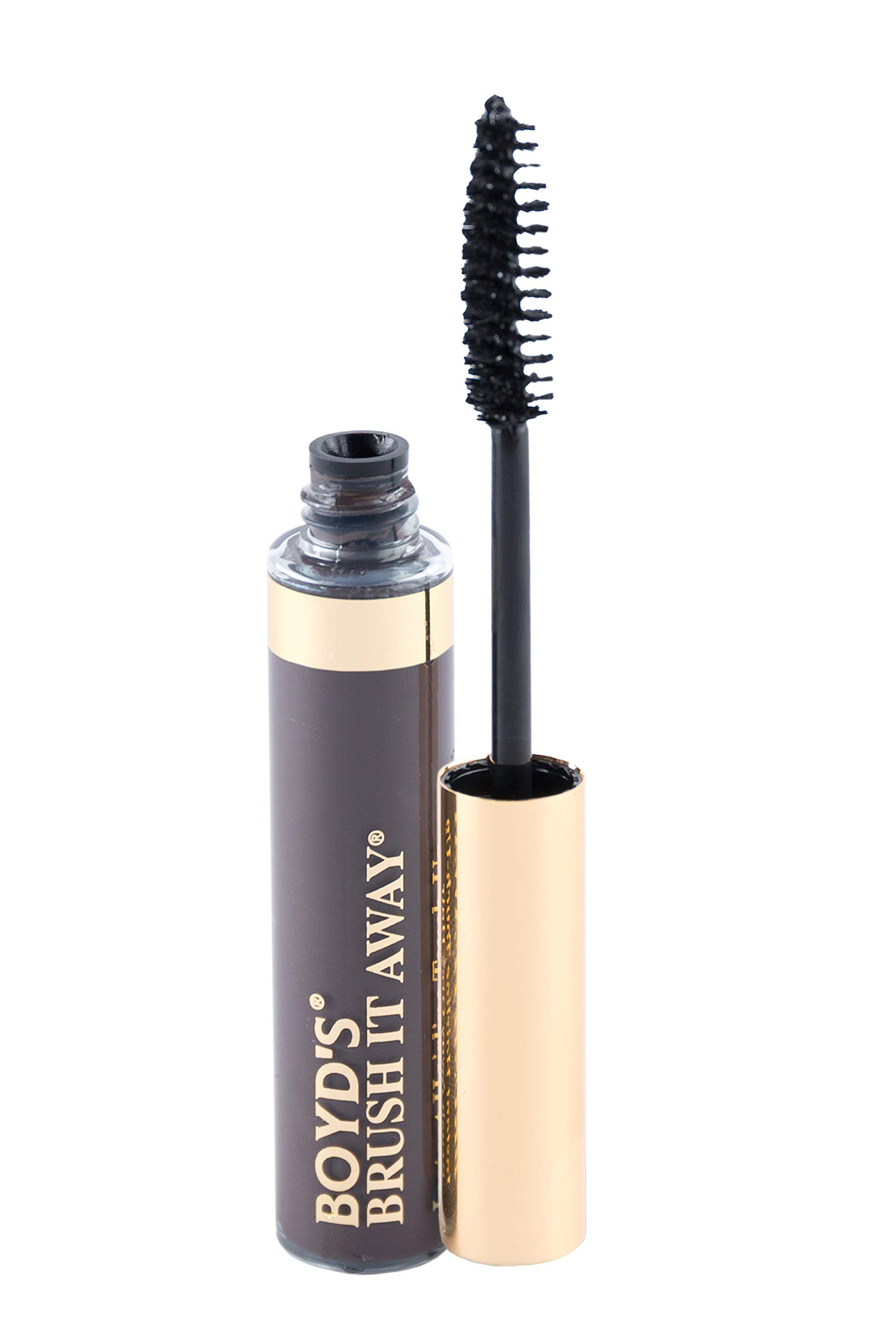 Boyd's Brush It Away Hair Mascara and Root Touch Up (Dark Brown) by BOYD'S MADISON AVENUE