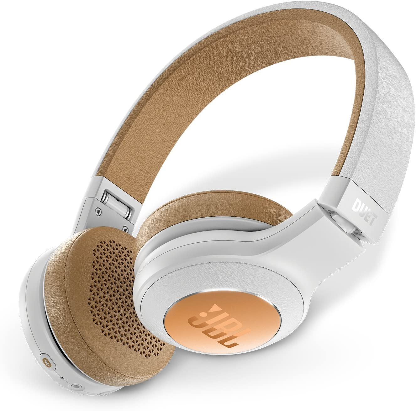 JBL Duet Bluetooth Wireless On-Ear Headphones - Silver