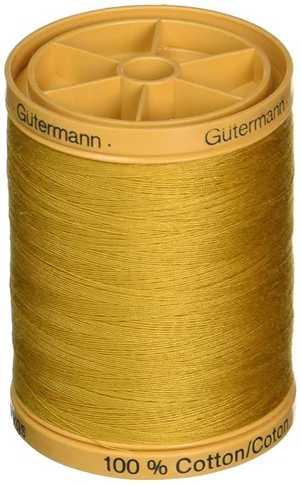 Amazon Gutermann Natural Cotton Thread Solids 876 Yds Gold