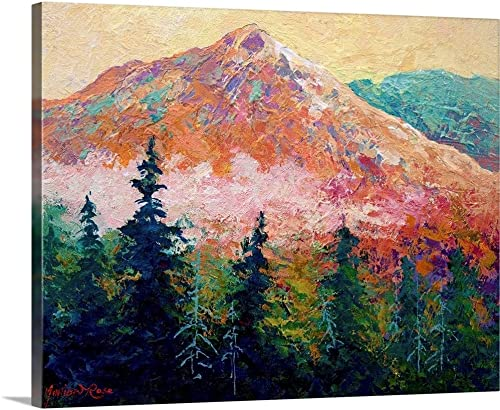 Mountain Sentinel Canvas Wall Art Print