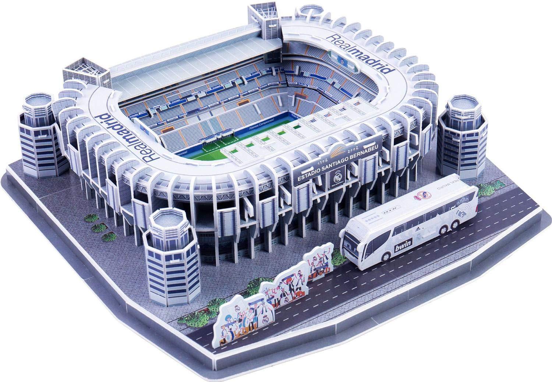 WTUGAIOHG 3D Modelo De Campo para Pies, Estadio Santiago BernabÉU ...