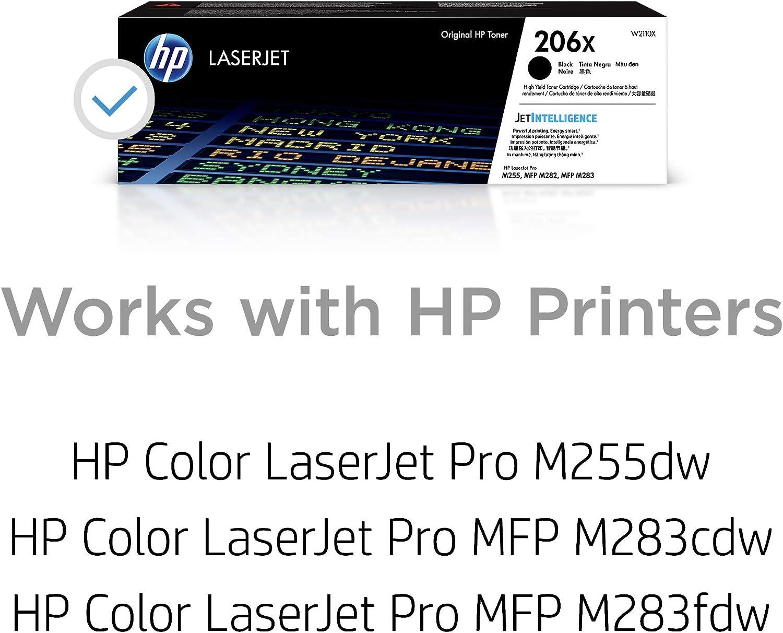 HP 206X W2110X High Yield Toner Cartridge Black