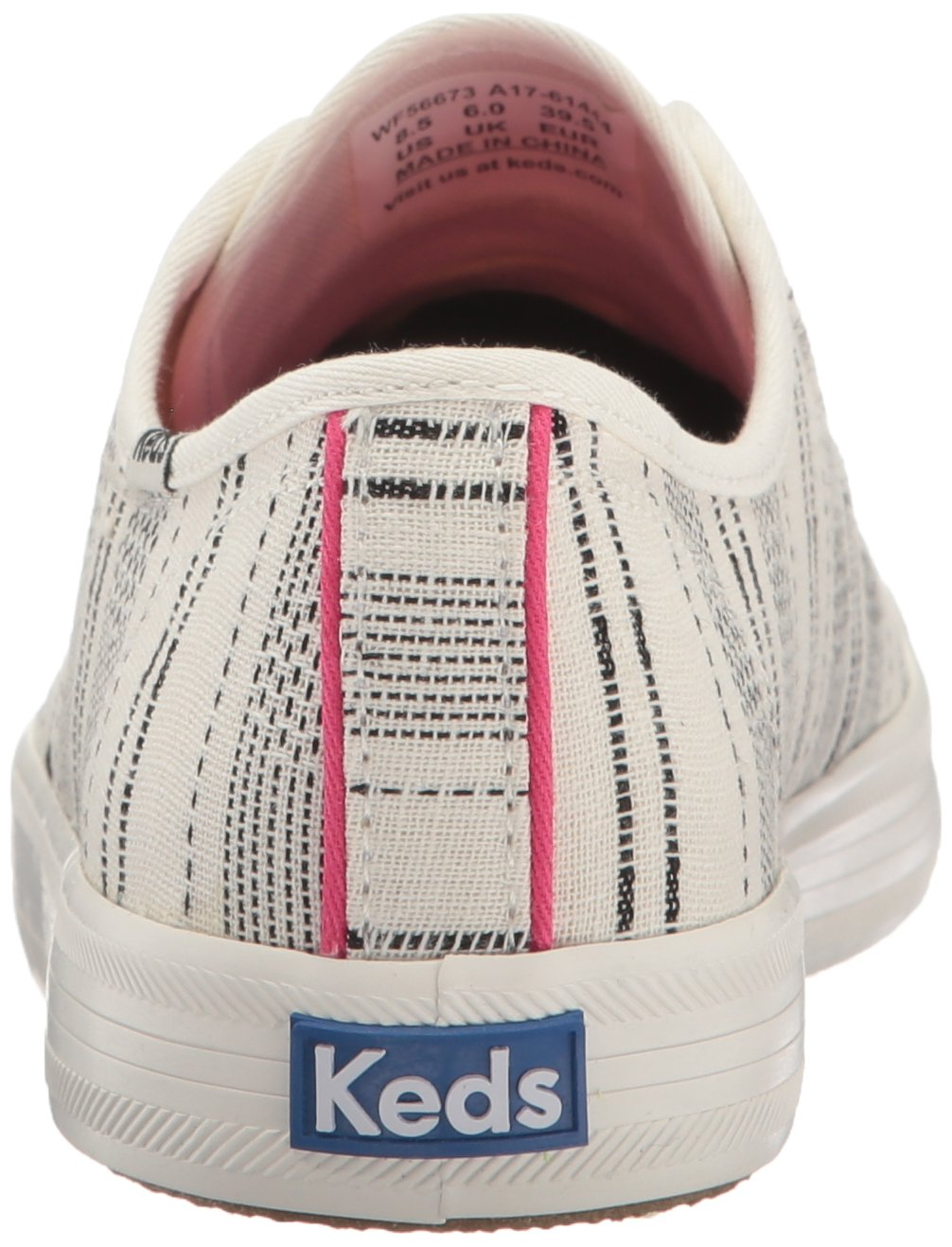 Keds Women's Kickstart Baja Stripe Fashion Sneaker B01J8J27KE 6 B(M) US|Cream