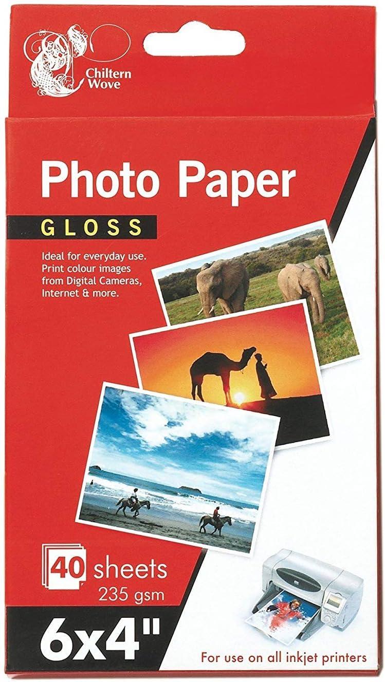 235GSM HIGH QUALITY GLOSS PHOTO PAPER A4 7X5 6X4 DIGITAL GLOSSY INKJET PRINTER