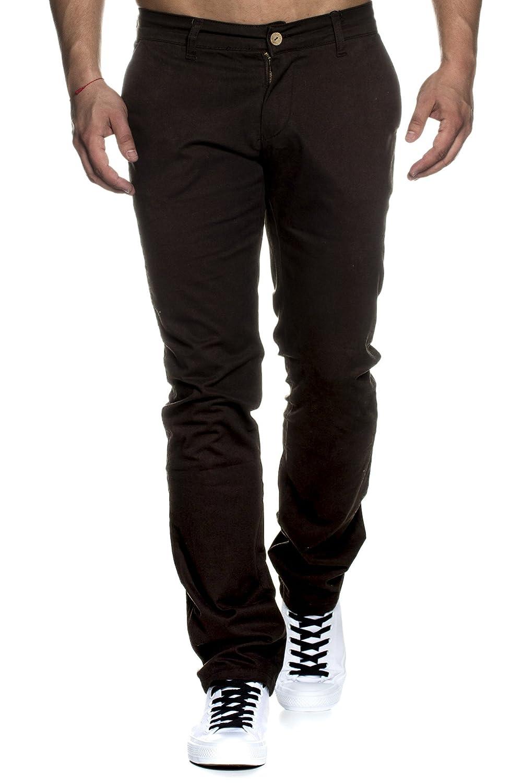 Tazzio 16541 - Pantaloni regular fit, stile chino