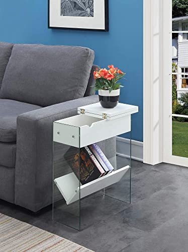 Convenience Concepts SoHo Flip Top End Table