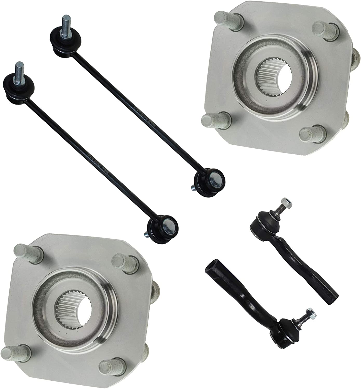 FRONT Wheel Hub Bearing Assembly For NISSAN SENTRA L4 2.5L 2007-2012